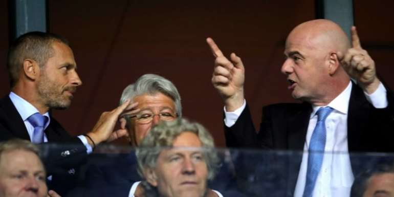 UEFA Steps Up Opposition To FIFA's New Competitions Proposal