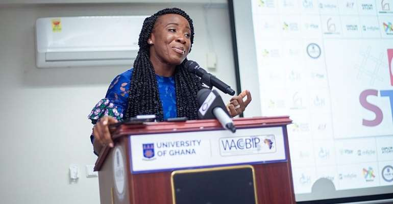 Naa Ashorkor Is The Face Of GH4STEM, Promoting PracticalSTEM Education