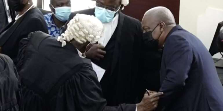 Mahama files application for review of ruling on reopening case