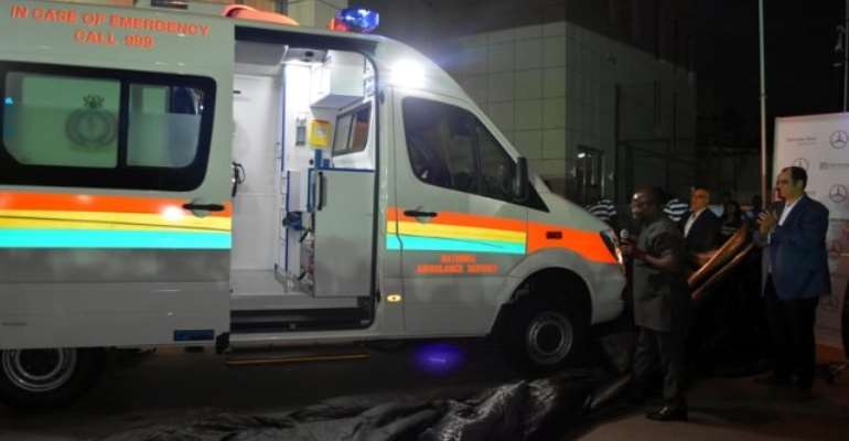 Mercedes-Benz Ambulances Silver Unveiled In Accra