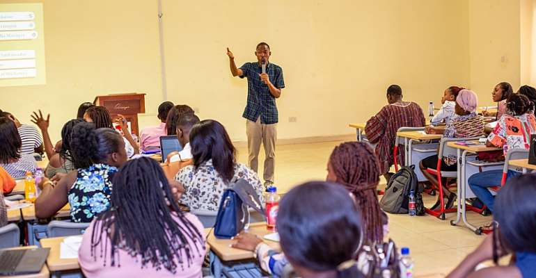 Avance Media CEO, Prince Akpah Delivers Guest Lecture at Central University