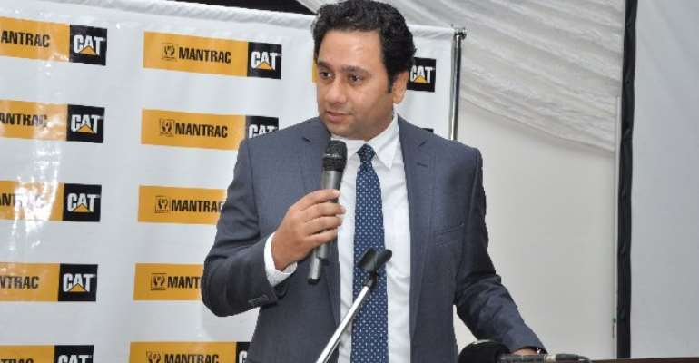 Mantrac Ghana hosts Caterpillar Group President as part of 80th anniversary