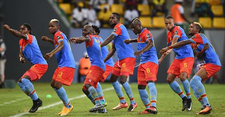 DRC's dancing footballers leave mark at AFCON 2017
