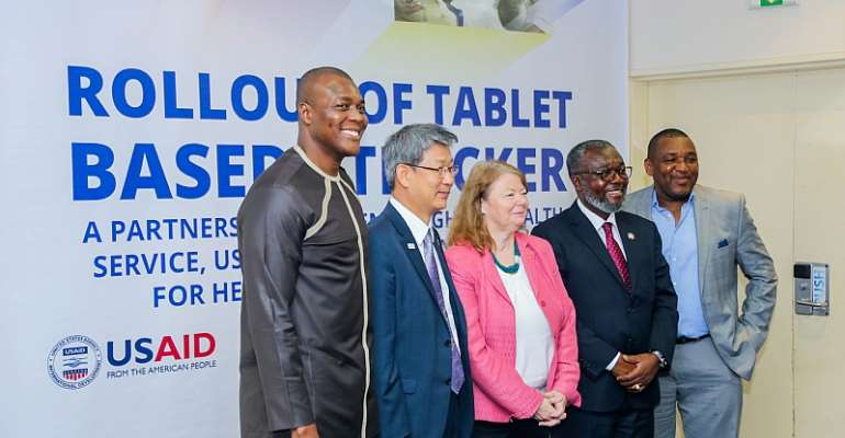 USAID and KOICA Enhance Health Care Using Samsung Tablets