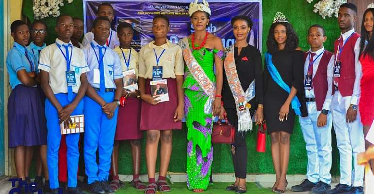 Stay Far Away From Drugs, Queen Isabella Okafor urges Secondary School students