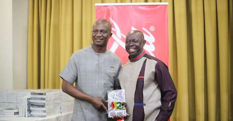 Kwasi Appiah Launches Book Without GFA, NSA & MYS Officials