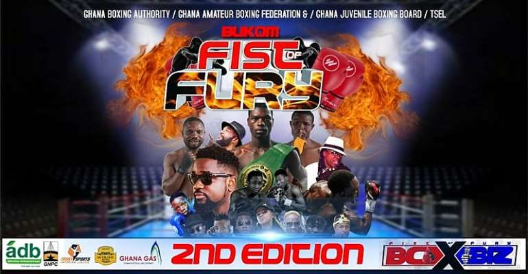 Bukom Fist Of Fury Boxing League Season 2 Returns With A Bang