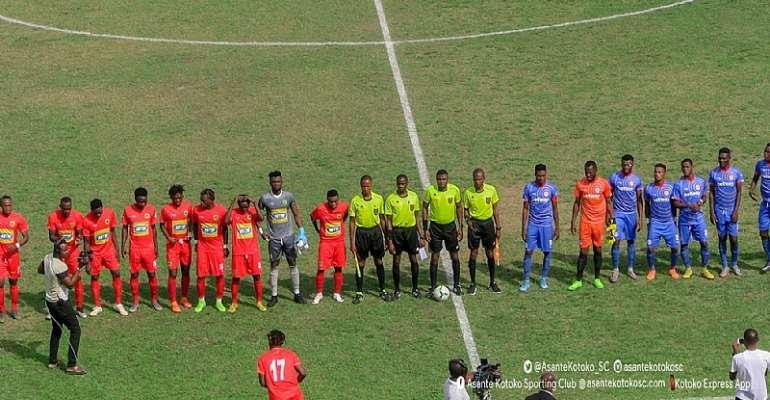 Kotoko 1-1 Liberty - Coach David Ocloo Neutralize Maxwell Konadu In Kumasi
