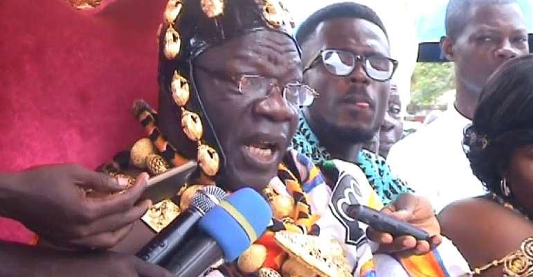 Mfantseman Celebrates Her Illustrious Father: His Royal Majesty Dasebre Kwebu Ewusie