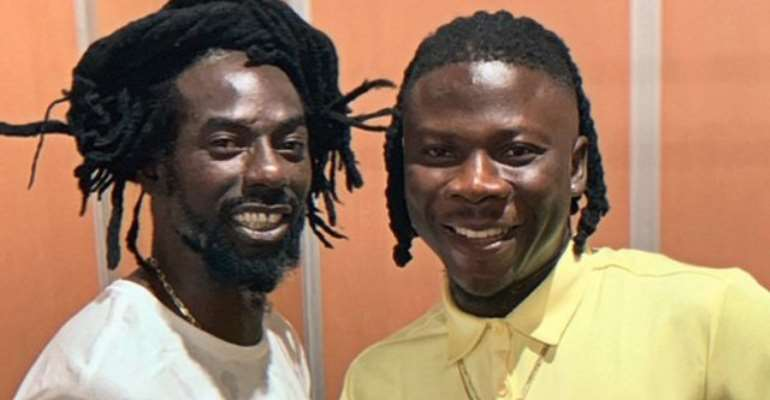 Stonebwoy Confirms Collabo with Legendary Jamaican Artiste Buju Banton