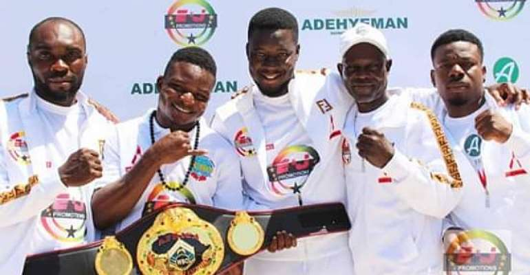WBO Rates 10 Ghanaian Boxers High In World Rankings