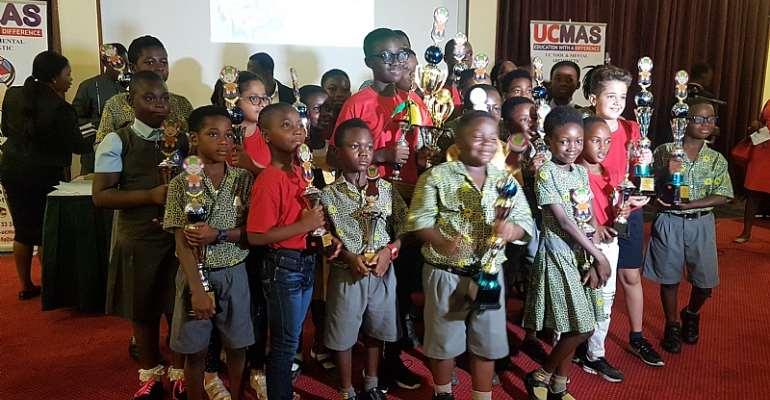 UCMAS Present Awards To 2018 Winners Of Malaysia Contest