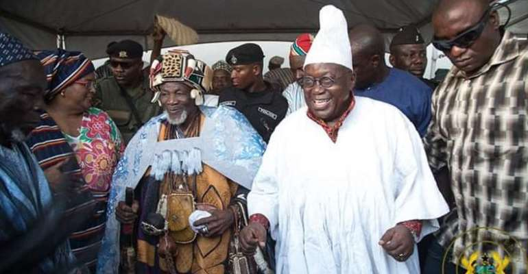 President Akufo-Addo: One Man With Many Chieftaincy Titles