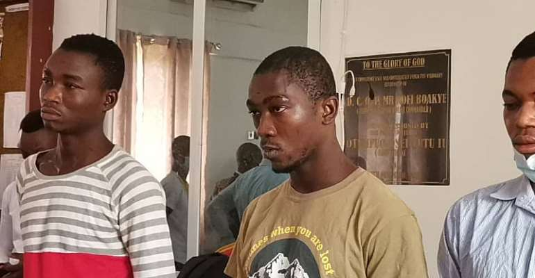 Bullion van robbery: 5 suspects arrested, Ghc53,934 and two vehicles retrieved