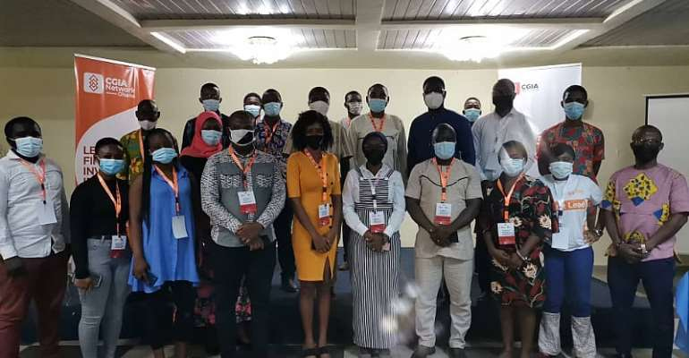 CGIA Network Ghana holds one-day capacity building workshop for business and financial journalists