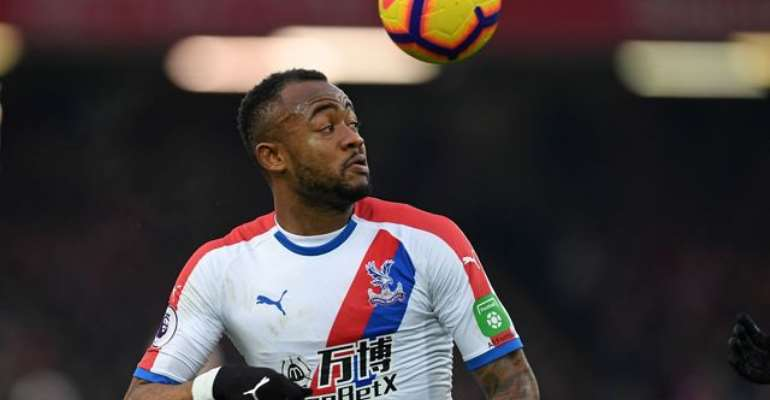 Jordan Ayew in action against Brighton