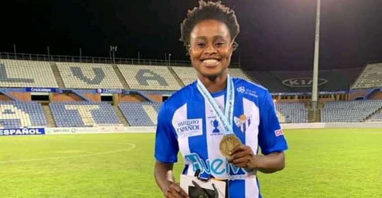Lesbianism among Ghanaian female footballers: Black Queens striker Priscilla Adubea wades into discussion