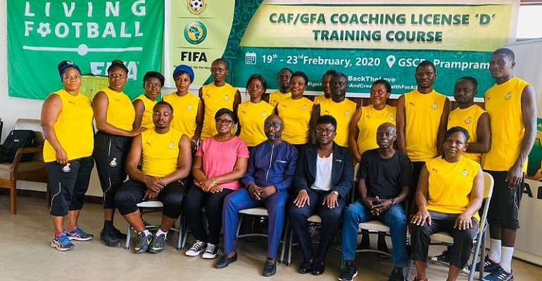 GFA/CAF License D Coaching Course Ends On Sunday