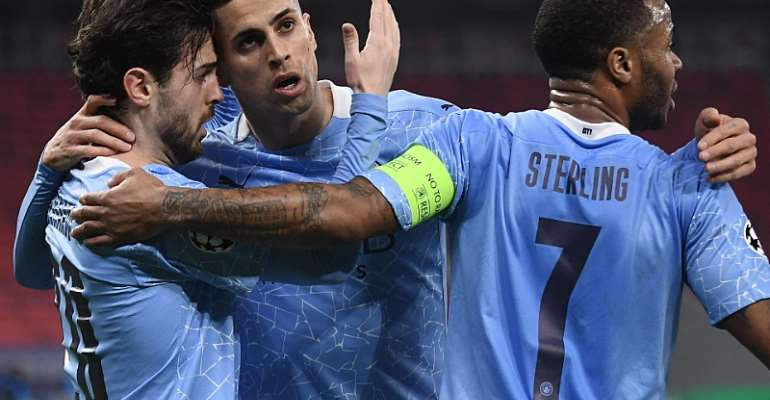 Man City beat Gladbach in Champions League for 19th win ina row