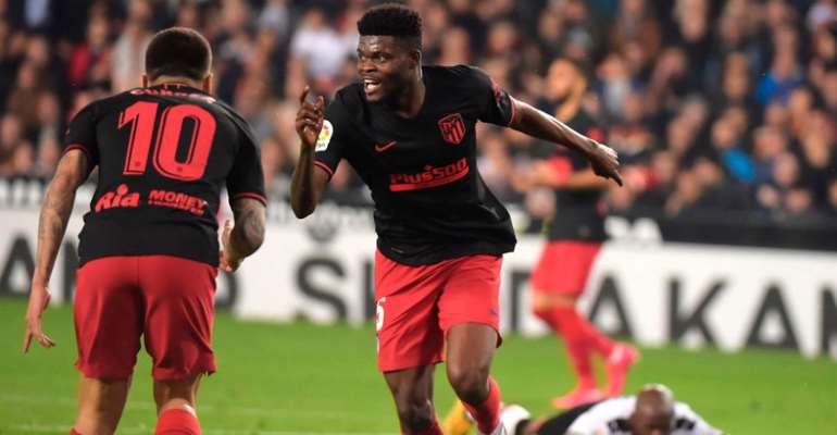 Thomas Partey Aiming To Retire At Atletico Madrid