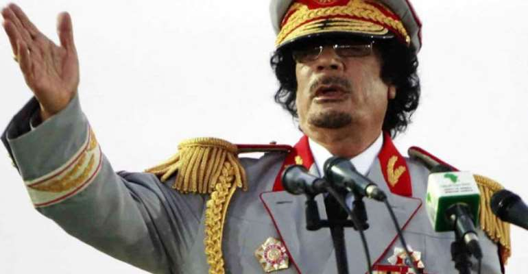 Ex-Libyan leader, the late Muammar Qadhafi