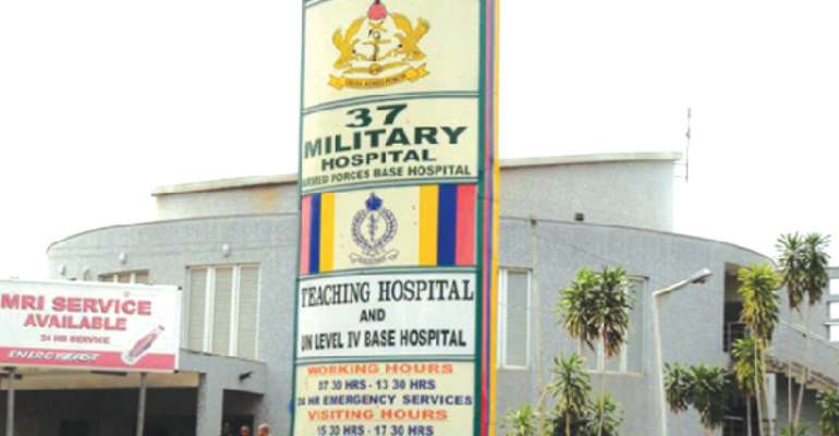 We're Probing Allegations Against 37 Military Hospital Staff – Ghana Armed Forces
