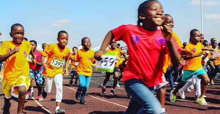 Children Gear Up For 2020 Accra Kiddy Mile Races On March 14