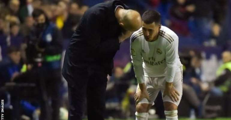 Real Madrid's Hazard to miss City Barcelona clashes with fibula fracture