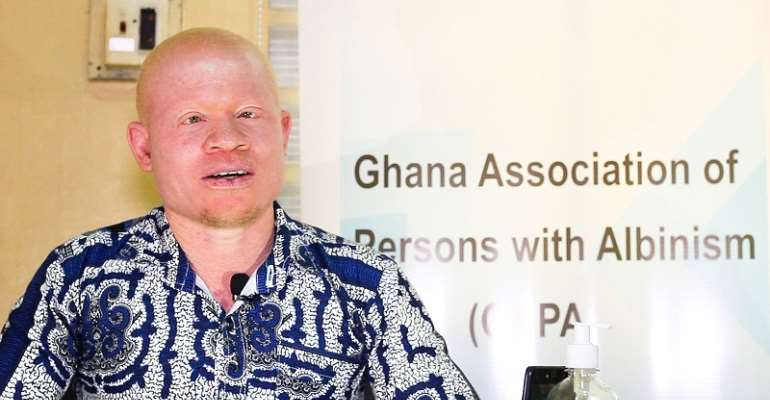 Ghana Albinism Association Distances Itself from Foh-Amoaning expulsion