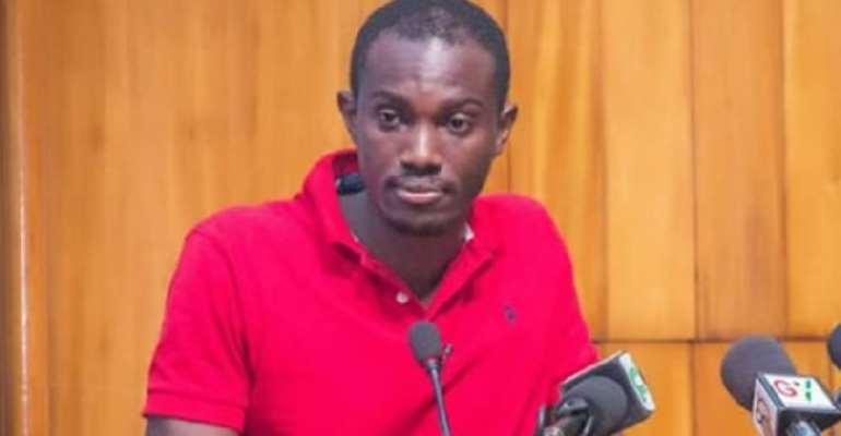 Economic Fighters League (EFL) leader Ernesto Yeboah