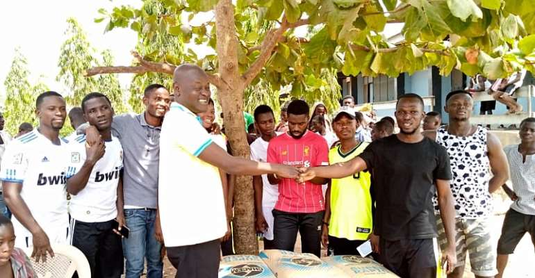 NASPA Tano South Donates To School For The Deaf In Bechem