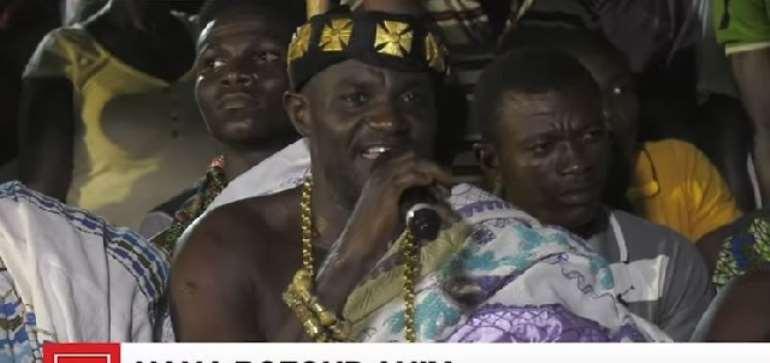 [Watch] Sienchem Chief Prays Mahama Wins Election 2020