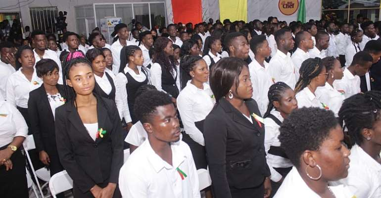 GH Media School Holds 5th Matriculation Ceremony