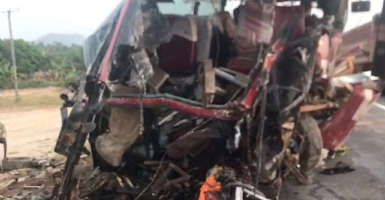 16 die in crash at Akim Asafo, others in critical condition