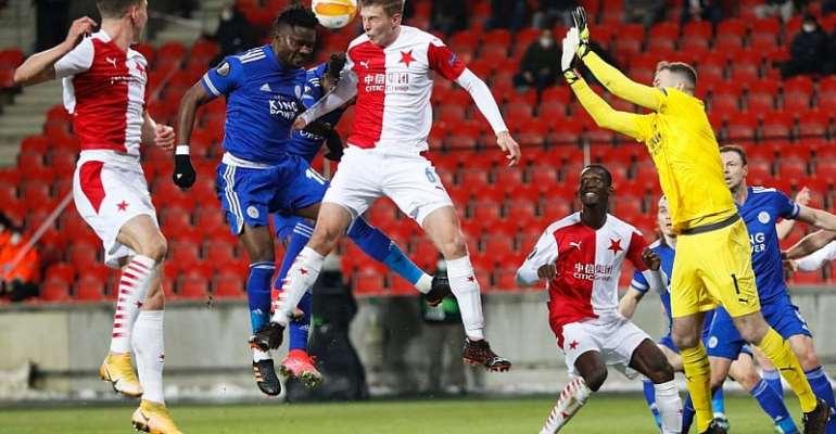 Europa League: Daniel Amartey features as  Sparta Prague crash Leicester City out