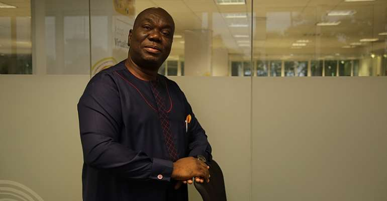 Acting CEO of MTN Ghana, Mr Samuel Addo