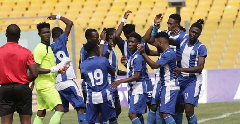 GHPL: Great Olympics recover from defeat to Eleven Wonders to beat Berekum Chelsea 1-0