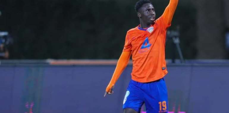 Ghana forward Samuel Owusu scores and provide assist to help Al Feiha defeat Al Thoqbah 3-2