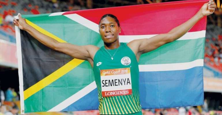 Caster Semenya has won the Olympic 800m title twice and the world title three times