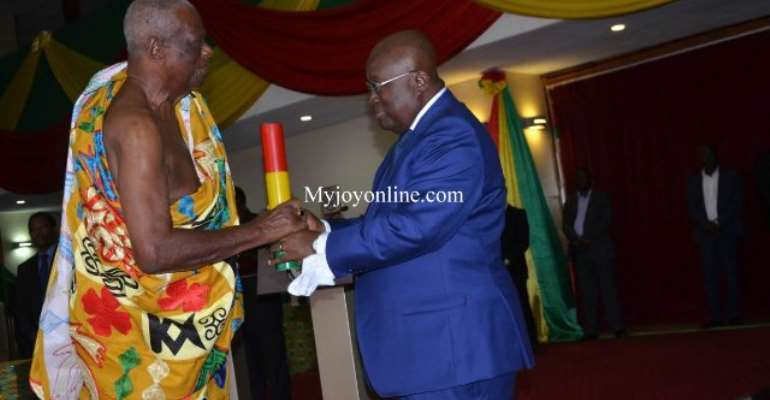 Council of State elects Juabenhene Nana Otuo Siriboe II as Chairman