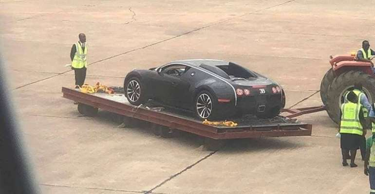 Check Out The First $3Million Bugatti Veyron In Ghana
