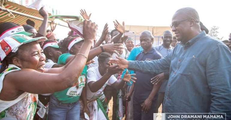 I'll Complete All My Abandoned Projects By This Gov't — Mahama Promises