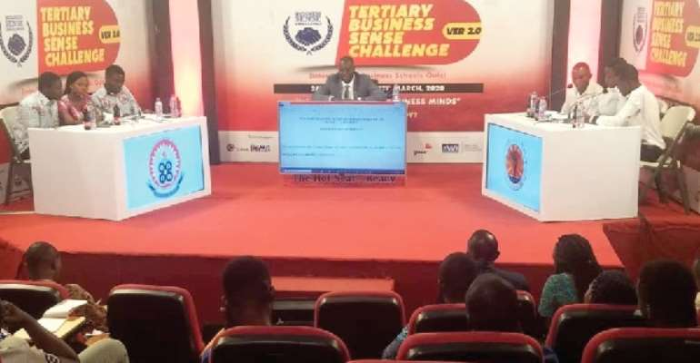 UEW Floors AUCC To Stage Two Of Tertiary Business Sense Challenge