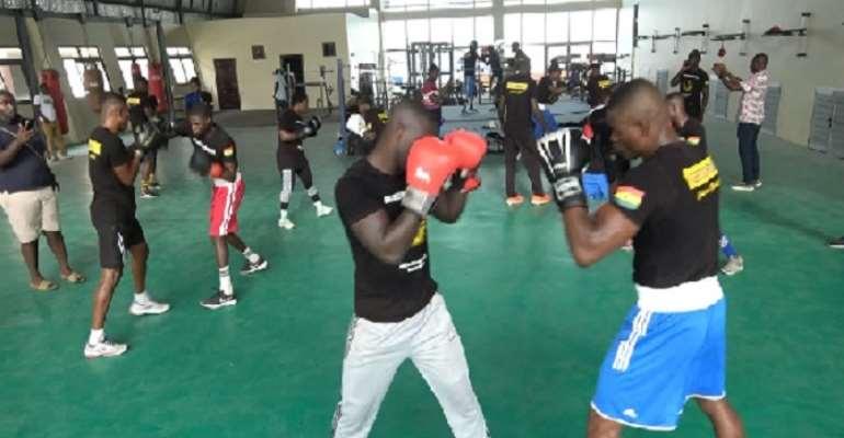 Black Bombers training