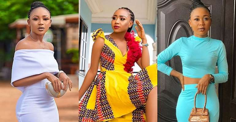 'Edey pain you' — Akuapem Polo as she flaunts her latest Mercedes Benz online [Video]