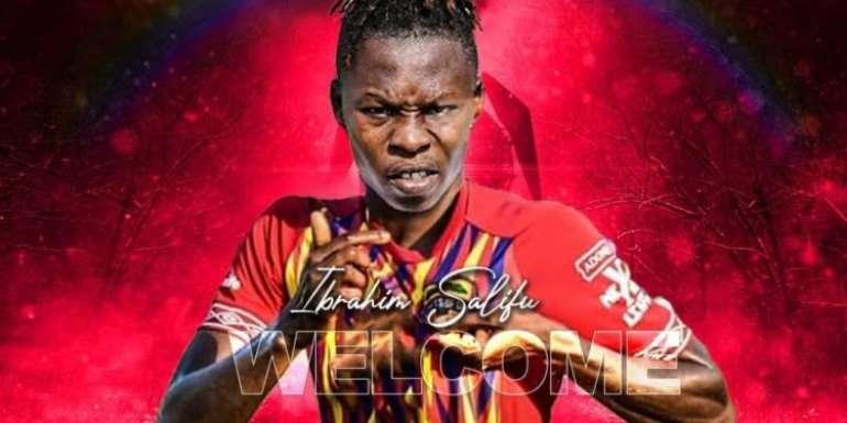 Eleven Wonders confirms transfer of midfielder Salifu Ibrahim to Hearts of Oak