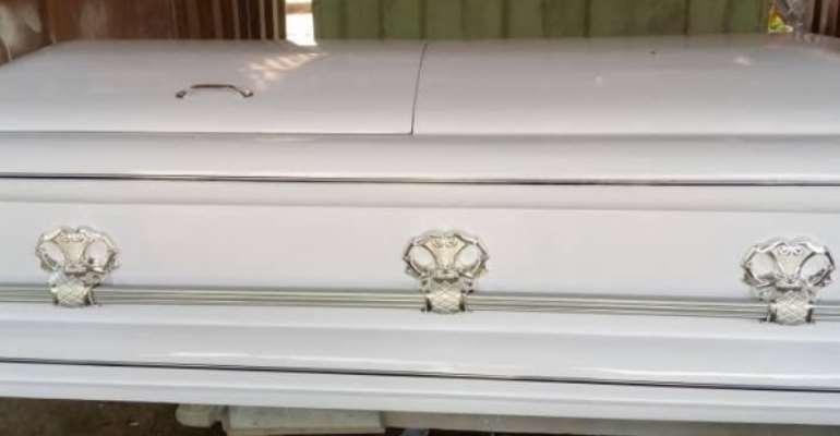 Accra: Police retrieves stolen coffin from burial service in Korle Woko