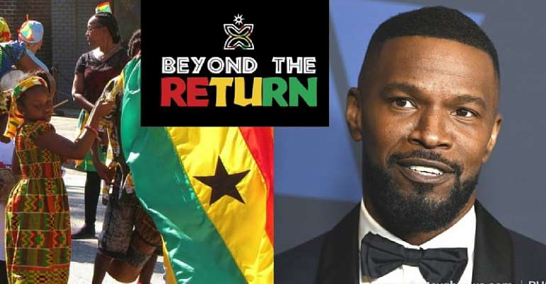 Jamie Foxx To Visit Ghana For Beyond