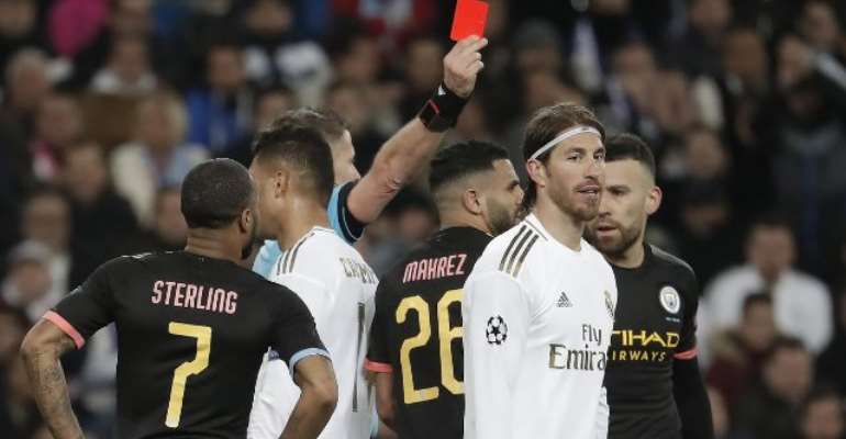 Real Madrid Set To Appeal Ramos Red Card