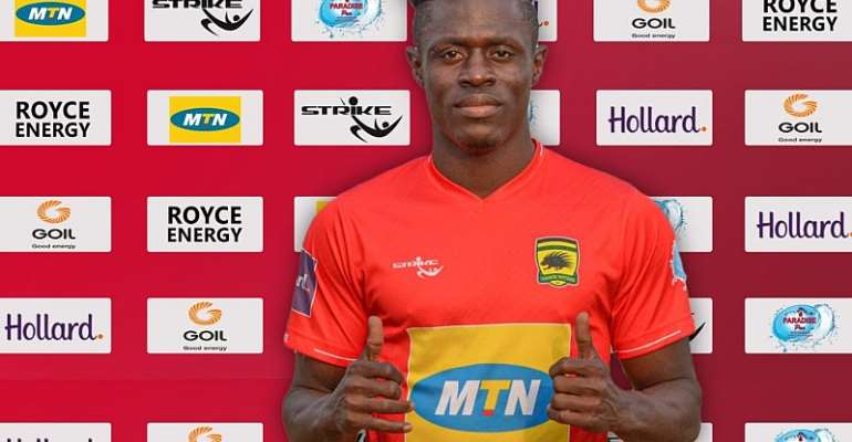 Kotoko In Hot Water For Signing Kwame Poku Without Knowledge Of Agent